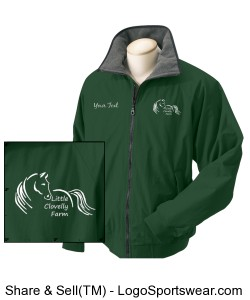 Adult Jacket with logo Design Zoom