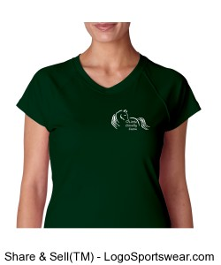 Ladies Wicking T-shirt Design Zoom