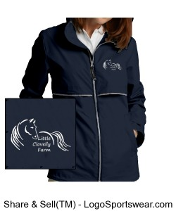 Womens New Englander Rain Jacket Design Zoom